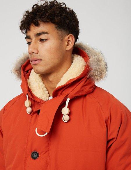 Nigel Cabourn Everest Parka - Orange