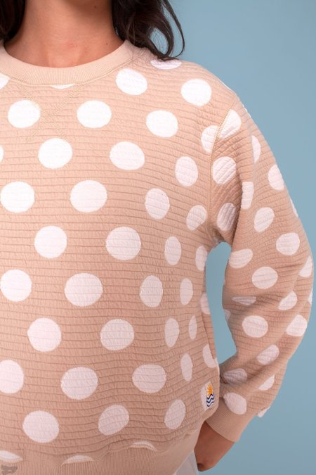L.F.Markey Thierry Sweatshirt - Polka Dot Sand