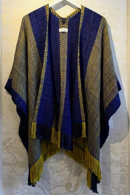 Wehve Fringed Merino Silk Knit Kaftan