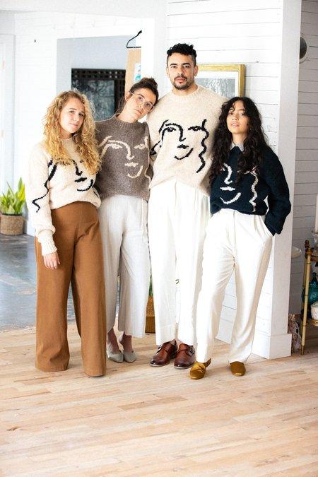 Unisex Paloma Wool Anita Sweater - Cream