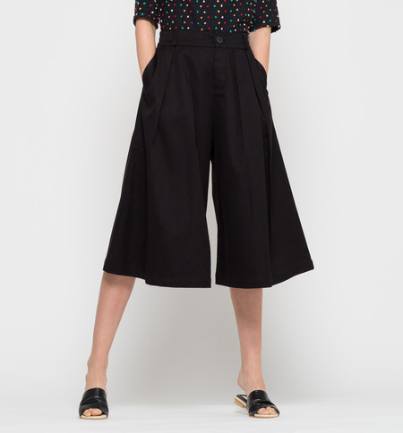 Kowtow Harbour Culottes Black