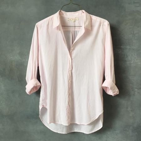 Xirena Beau Boyfriend Shirt in Venus Pink
