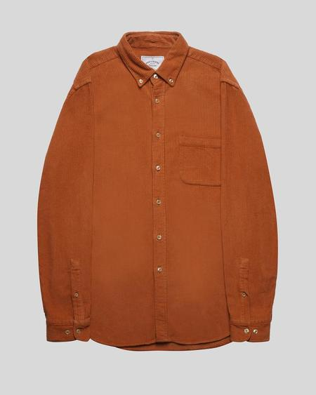 Portuguese Flannel Lobo Shirt - Brick