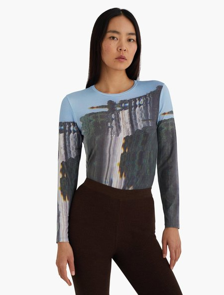 Paloma Wool Victoria Long Sleeve T-Shirt - Forest Green