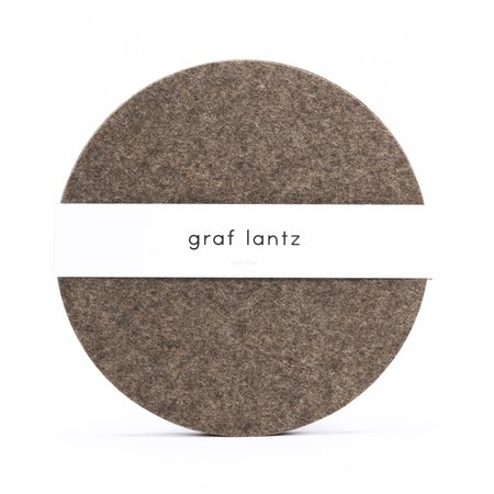 Graf Lantz 4 Pack Placemat - Ash Brown