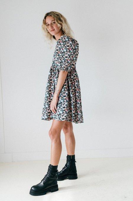 Bronze Age Manon Mini Puff Dress - 90s Floral