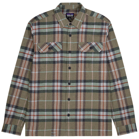 Patagonia Fjord Flannel Shirt - Sage Khaki