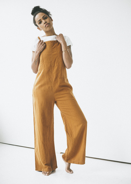 Lacausa Patch Jumpsuit in Maple