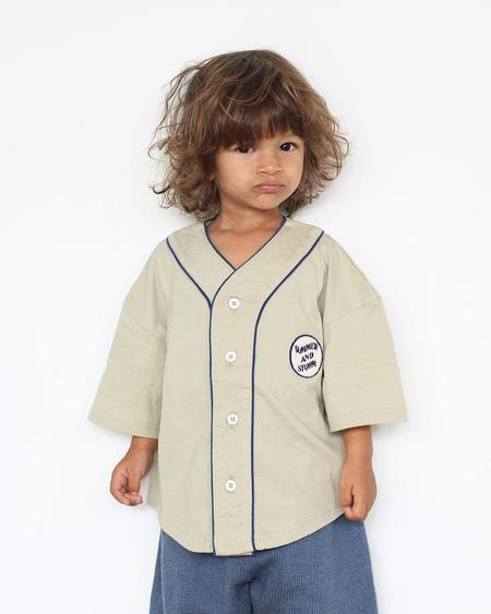 Kid's Summer & Storm  Baseball Jersey