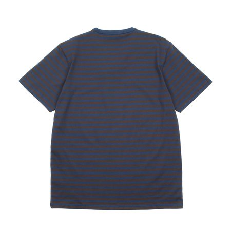 Norse Projects Niels Classic Stripe Ss Tshirt - Truffle