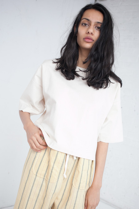 Caron Callahan Walsh Top in Japanese Cotton Twill