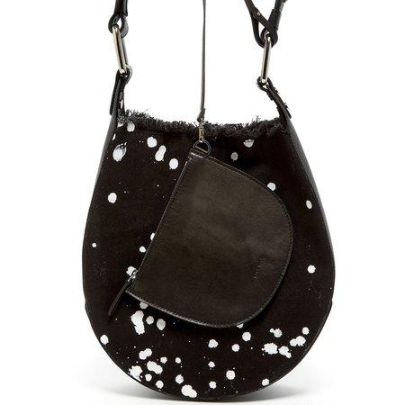 Graf Lantz Bixel bag - Splattered Black