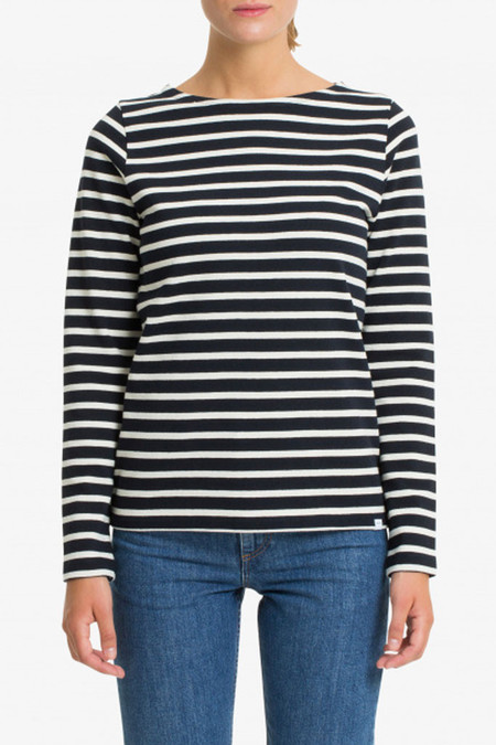 Norse Projects Inge Classic Stripe Top | Navy