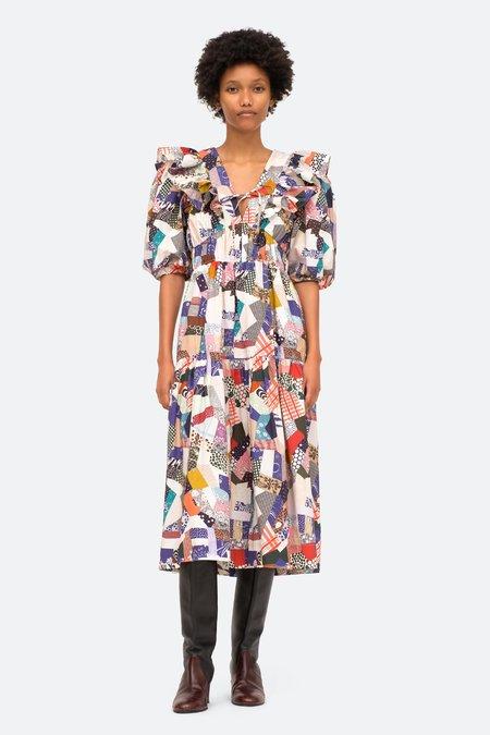 Sea NY Harlow V-Neck Dress