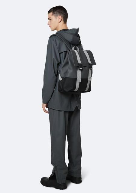 Rains Buckle Messenger Bag - Slate