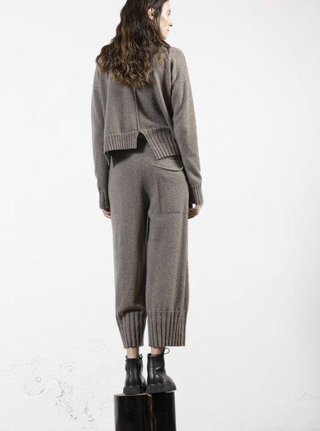 Serien°umerica Knit Pants -Tortora