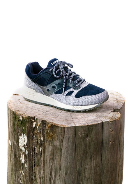 "Saucony GRID SD ""Dirty Snow II"" (Blue/Grey)"