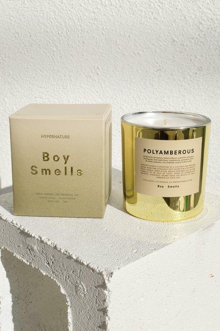 Boy Smells Polyamberous Candle