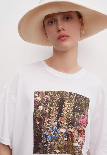 Kowtow Garden T-Shirt - White