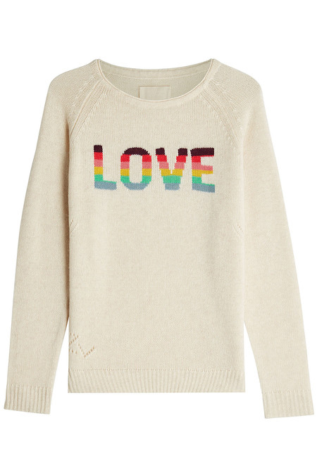 Zadig & Voltaire Baly Bis Cashmere Sweater
