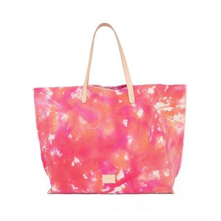 Graf Lantz Hana Boat Tie Dye Canvas Bag - Tropic