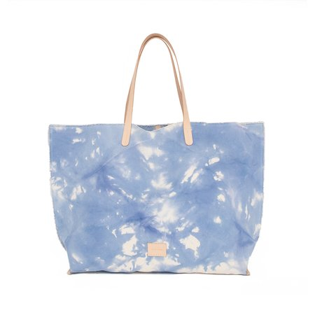 Graf Lantz Hana Boat Tie Dye Canvas Bag - Sky
