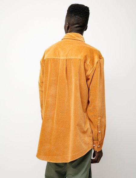 Paa Overshirt - Velveteen Mustard