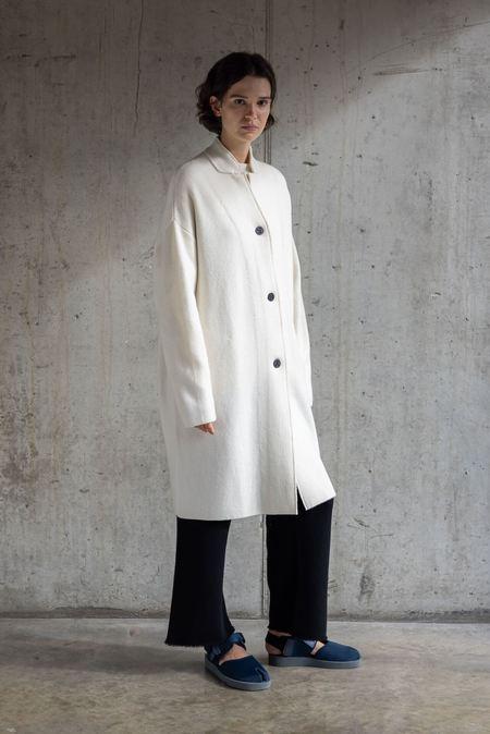 Oyuna Storm Coat - Ivory