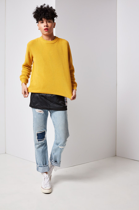 Kowtow Out Of Sight Crew (Yellow)