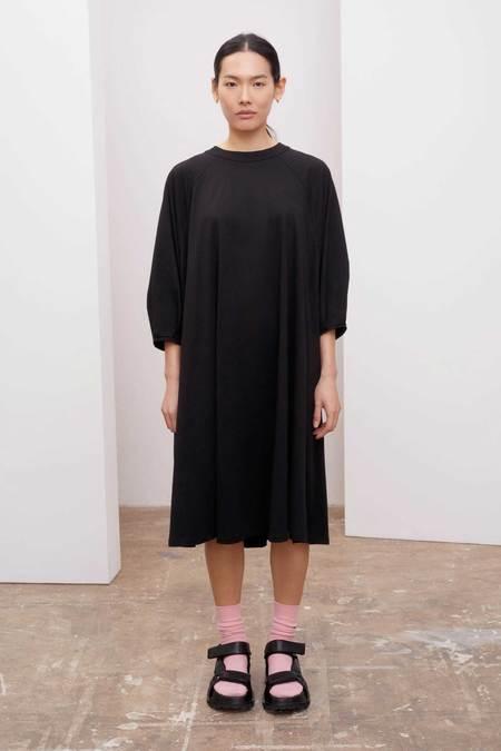 Kowtow Raglan Sleeve Dress - Black