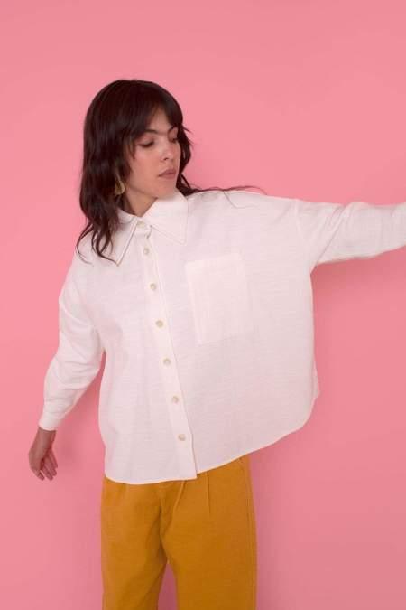 L.F.Markey Westley Shirt - White