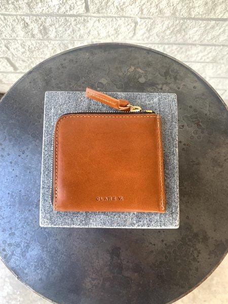 Clare V. Corner Zip Wallet - Meil