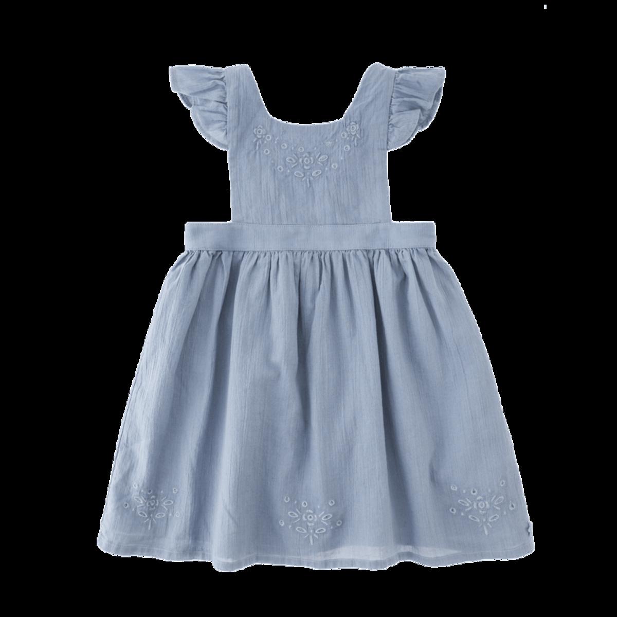 Blue apron dress - Tocoto Vintage