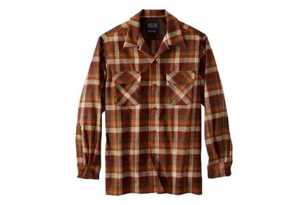 Pendleton Board Shirt - Rust Original Surf Plaid