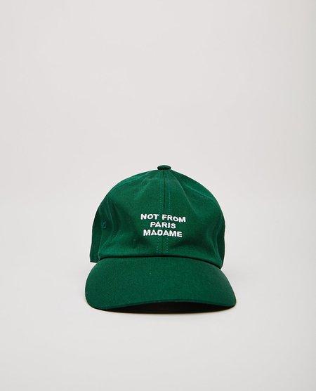 Drôle de Monsieur The Slogan Cap - Green