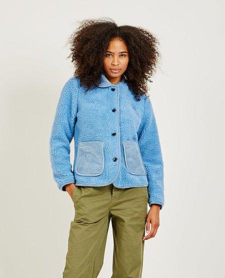 Alex Mill Sherpa Work Jacket - POW BLUE