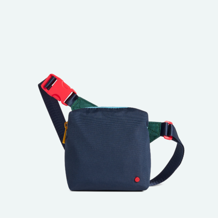 Kids STATE BAGS Lorimer Fanny Pack - Green/Navy