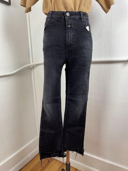 [Pre-Loved] CLOSED Denim Rose Black Skinny Jeans - Black
