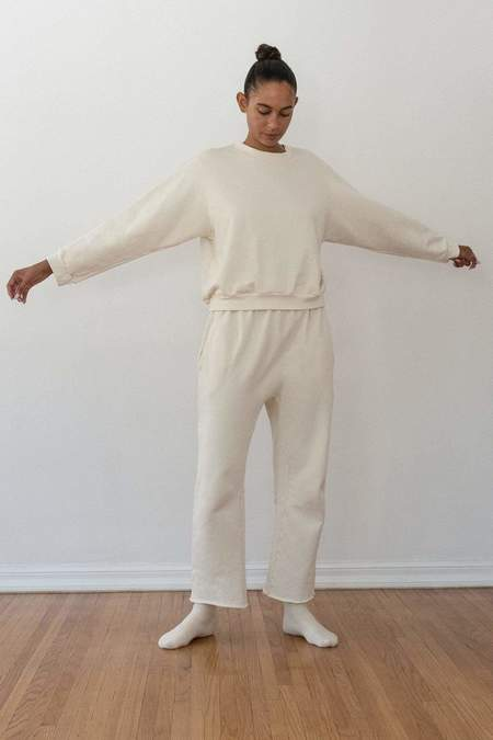 Wol Hide Easy Sweatpant - Natural