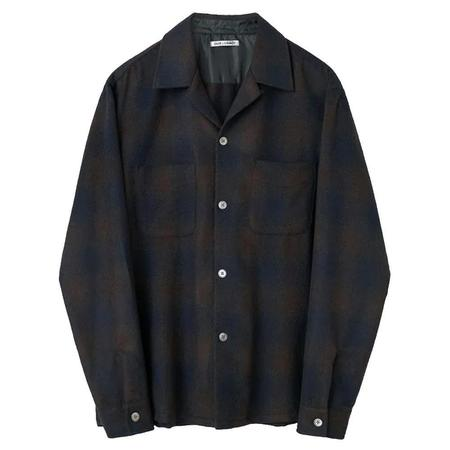 Our Legacy Heusen Shirt - Navy Shadow Check