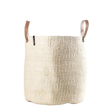 Mifuko Kiondo Large Market Basket - Natural