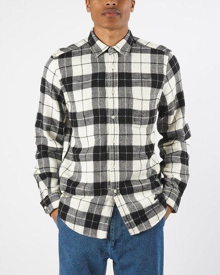 Portuguese Flannel Colorado Shirt - Black
