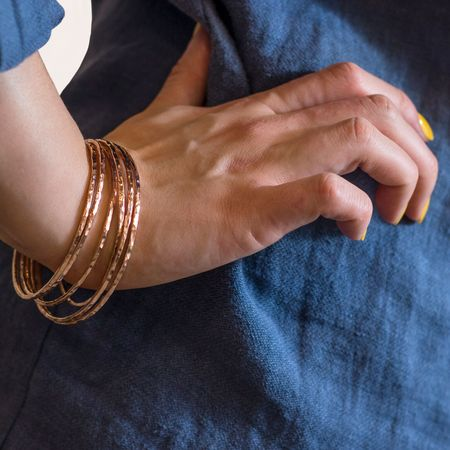 Mikel Grant 'Rose Gold Fill' Bangle