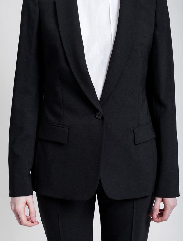 Acne Studios Single Bi Stretch Jacket Black