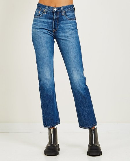 Levi's 501 Market Sixth Street Jeans - Blue