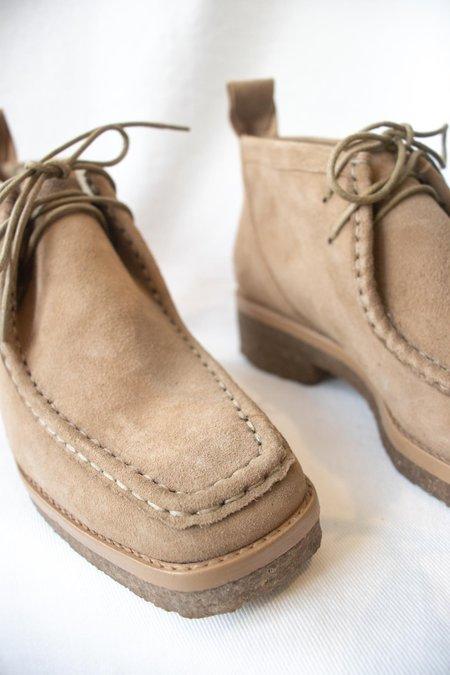 Mari Giudicelli Clark Shoe in Havana Suede