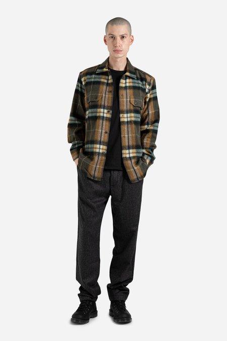 Outland Hunter Overshirt - brown Checks