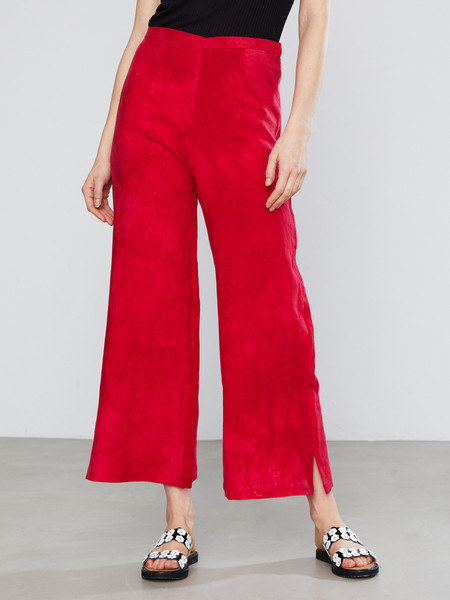Upstate Lily Wide Leg Pant - Corvette