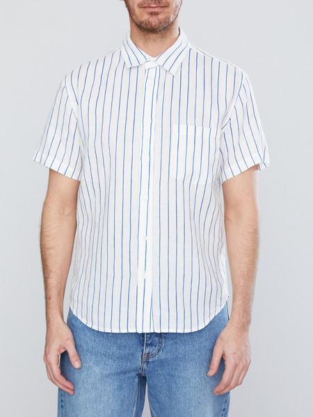 Corridor Short Sleeve Wavy Stripe Shirt