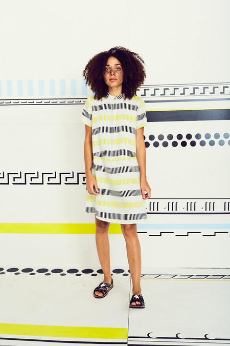 Dusen Dusen Stripe Oversized Tee Dress